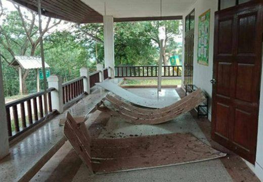 থাইল্যান্ড ও লাওস সীমান্তে শক্তিশালী ভূমিকম্প