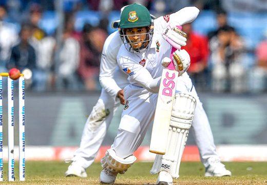 গোলাপি বলে বাংলাদেশ-ভারত টেস্ট ম্যাচ গড়াল তৃতীয় দিনে