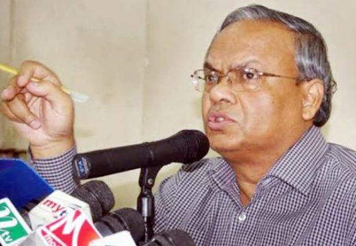 বিনা ভোটে নির্বাচিত প্রধানমন্ত্রী শেখ হাসিনা : রিজভী