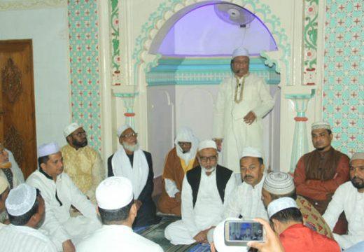 শেখঘাট কেন্দ্রীয় জামে মসজিদ কমপ্লেক্স পুননির্মাণ কাজ শুরু