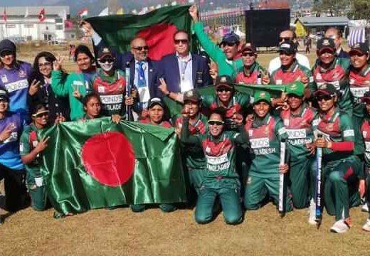 ফাইনালে শ্রীলঙ্কাকে হারিয়ে সোনার পদক জিতল বাংলাদেশ নারী দল