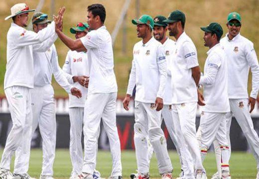 জিম্বাবুয়ের বিপক্ষে বাংলাদেশ টেস্ট দল ঘোষণা