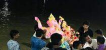 হবিগঞ্জে প্রতিমা বিসর্জনের মধ্যে দিয়ে শেষ হলো দুর্গোৎসব
