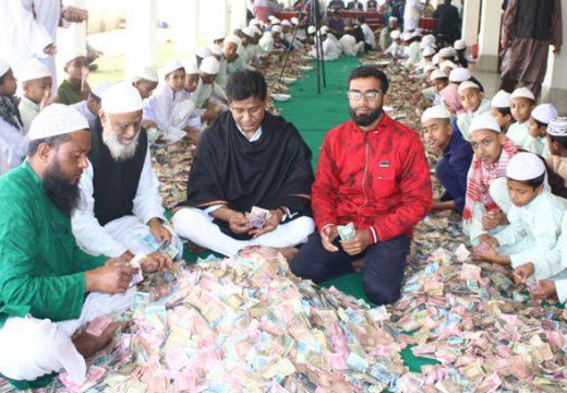 পাগলা মসজিদের দানবাক্সে তিন মাসে দেড় কোটি টাকা