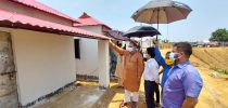 শ্রীমঙ্গলে প্রধানমন্ত্রীর উদ্বোধনের অপেক্ষায় গৃহহীনদের ১৬০ নতুন ঘর