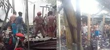 শায়েস্তাগঞ্জে ভয়াবহ অগ্নিকান্ডে বসতঘর পুড়ে ছাই