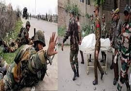 জম্মু-কাশ্মিরে গোলাগুলি, ৫ ভারতীয় সেনা নিহত