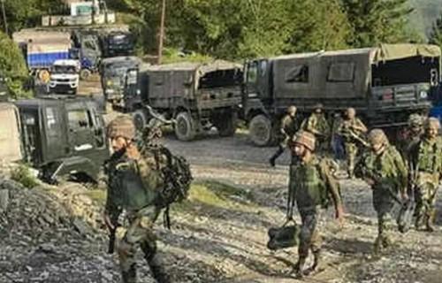 সন্ত্রাসবিরোধী অভিযানে ভারতীয় ২ সেনা নিহত