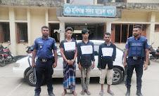 হবিগঞ্জ জেলায় যানবাহন চুরি অব্যাহত, ৩ গাড়িচোর আটক
